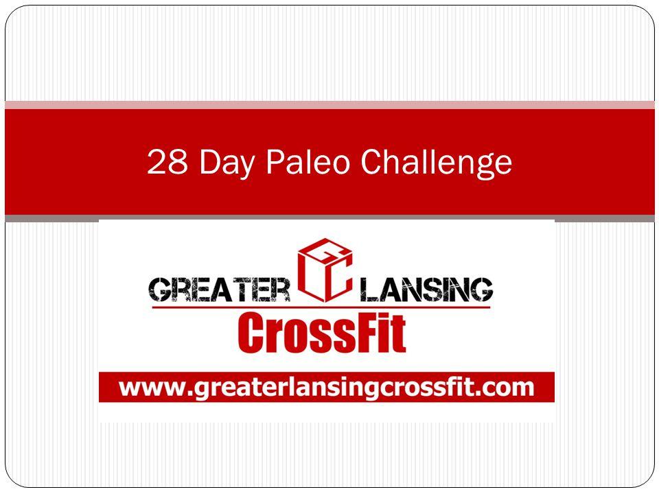 28 Day Paleo Challenge