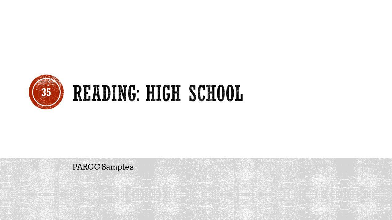 PARCC Samples 35