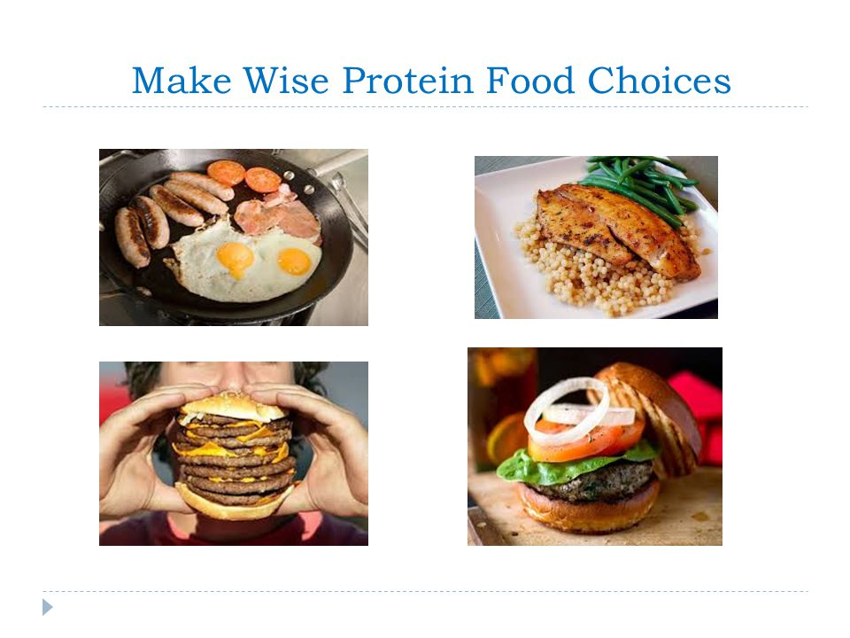 Make Wise Protein Food Choices