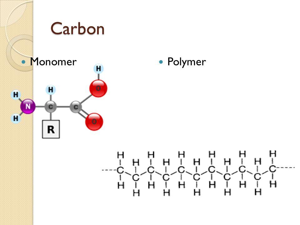 Carbon Monomer Polymer
