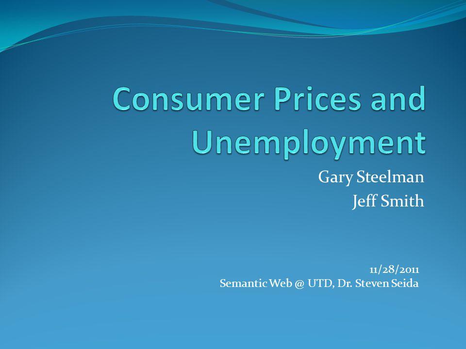 Gary Steelman Jeff Smith 11/28/2011 Semantic Web @ UTD, Dr. Steven Seida