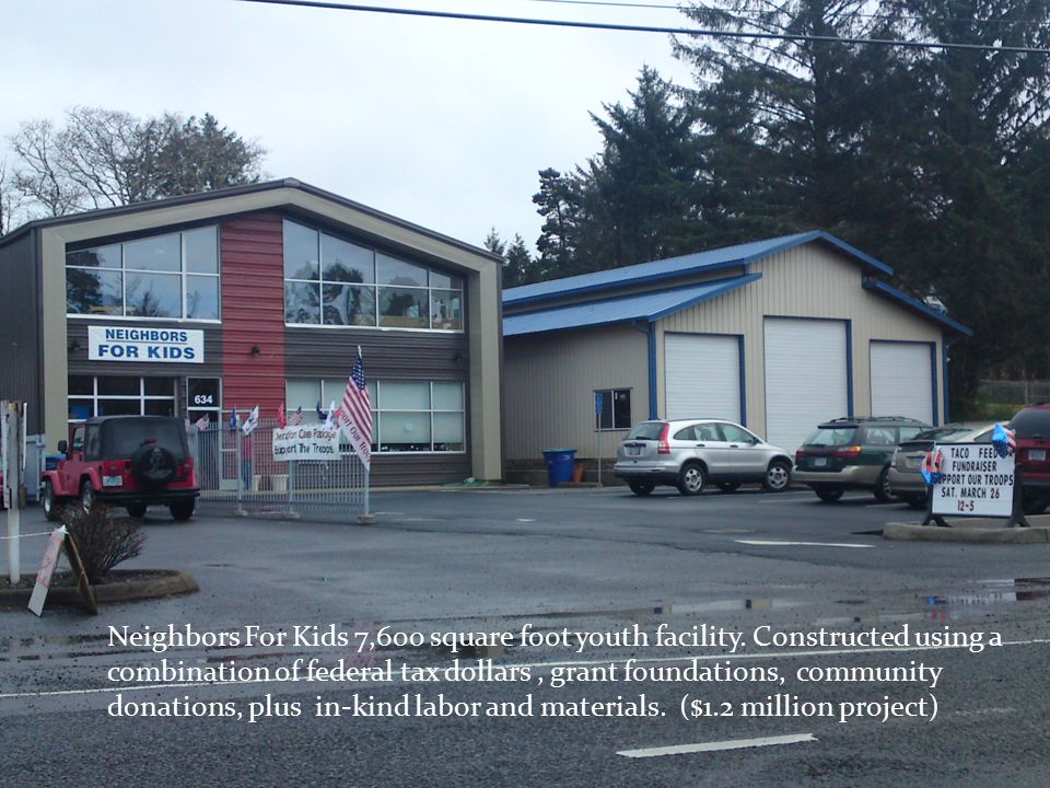 Neighbors For Kids 7,600 square foot youth facility.