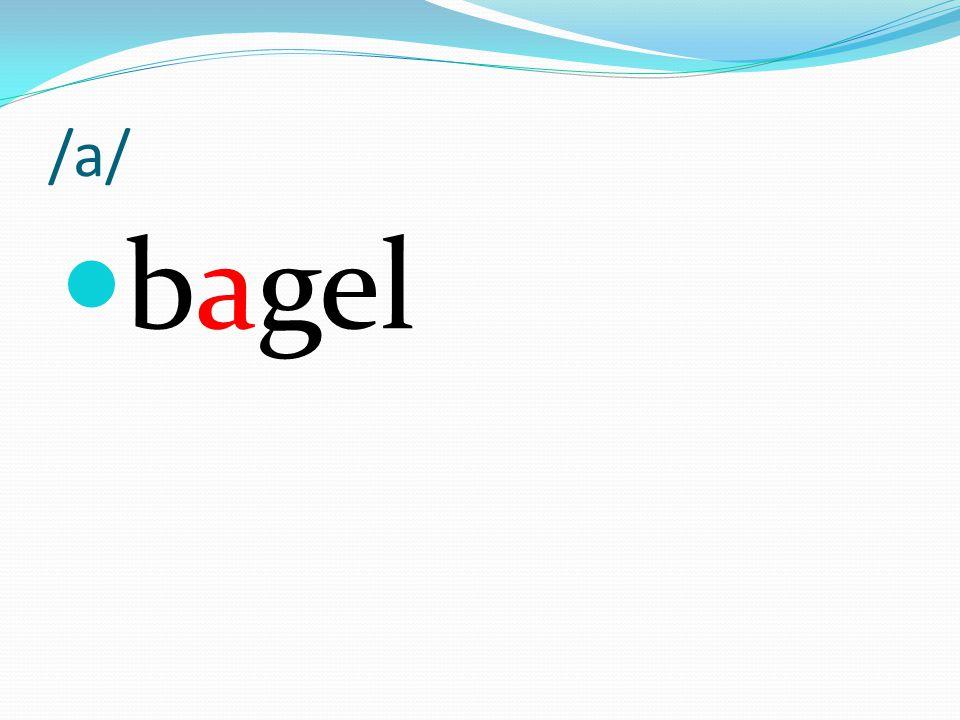 /a/ bagel