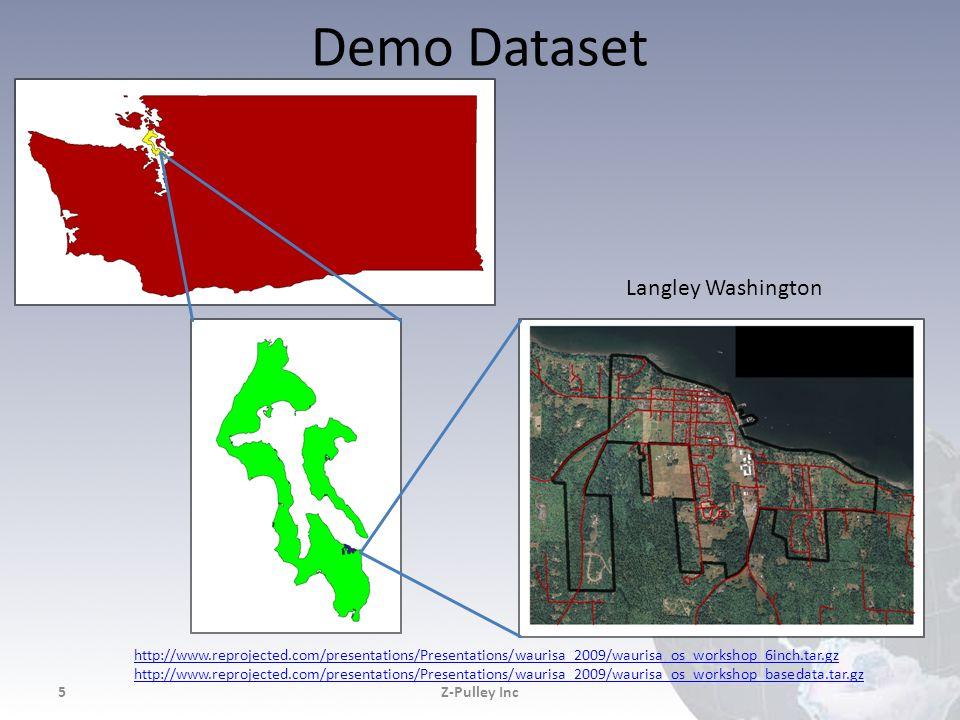 Demo Dataset Z-Pulley Inc5 Langley Washington http://www.reprojected.com/presentations/Presentations/waurisa_2009/waurisa_os_workshop_6inch.tar.gz htt