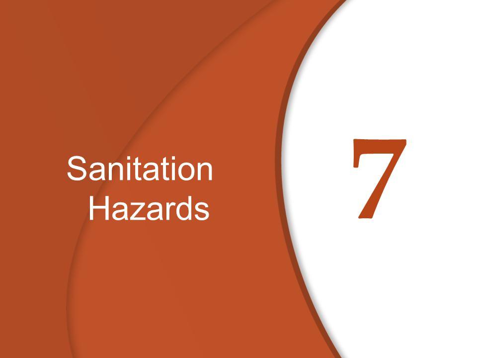 7 Sanitation Hazards