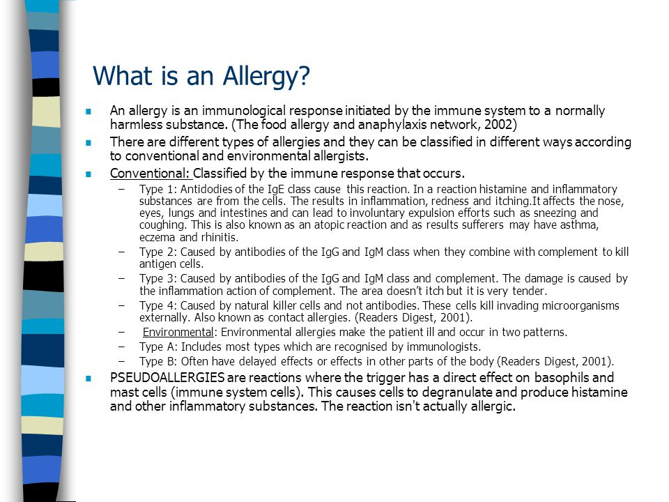 Tackling The Issues Behind Food Allergies By Sarah Groom, Karen Wiles and Katherine Baker