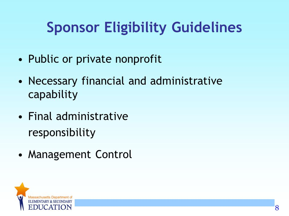 59 Food Allergy Awareness Strongly Recommended Suggestions for SFSP Sponsors The sponsor will train all site staff on the policies and procedures as they relate to onsite food allergy awareness.