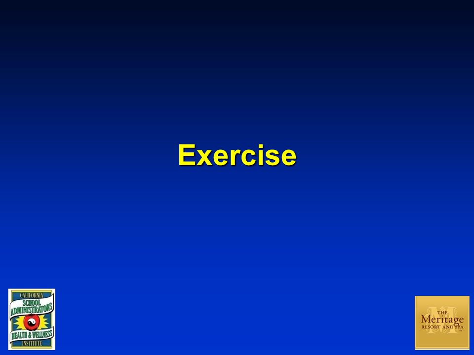 Exercise