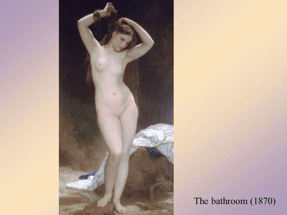 Girl is defending Eros (1880)