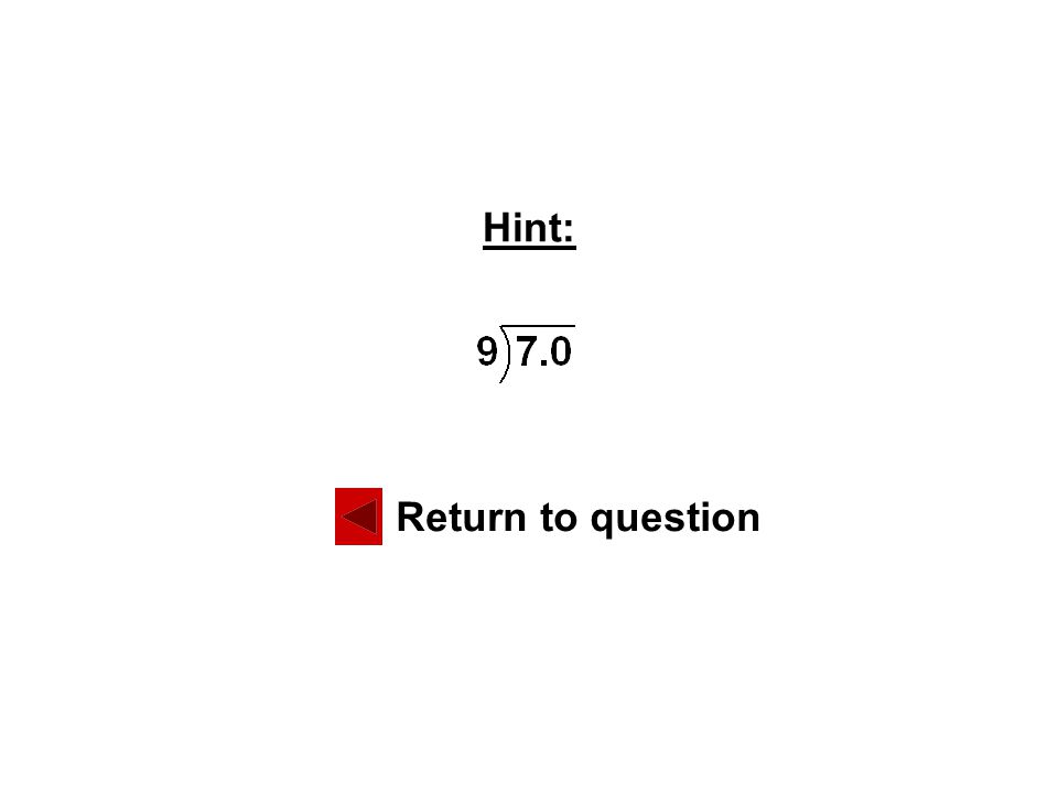 Solution: Correct! Next question Return to question #3