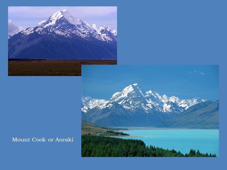 Mount Cook or Aoraki