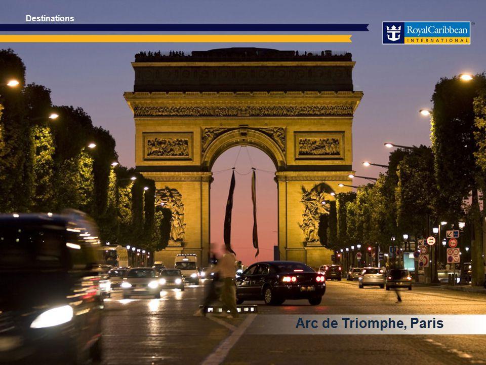 Arc de Triomphe, Paris Destinations
