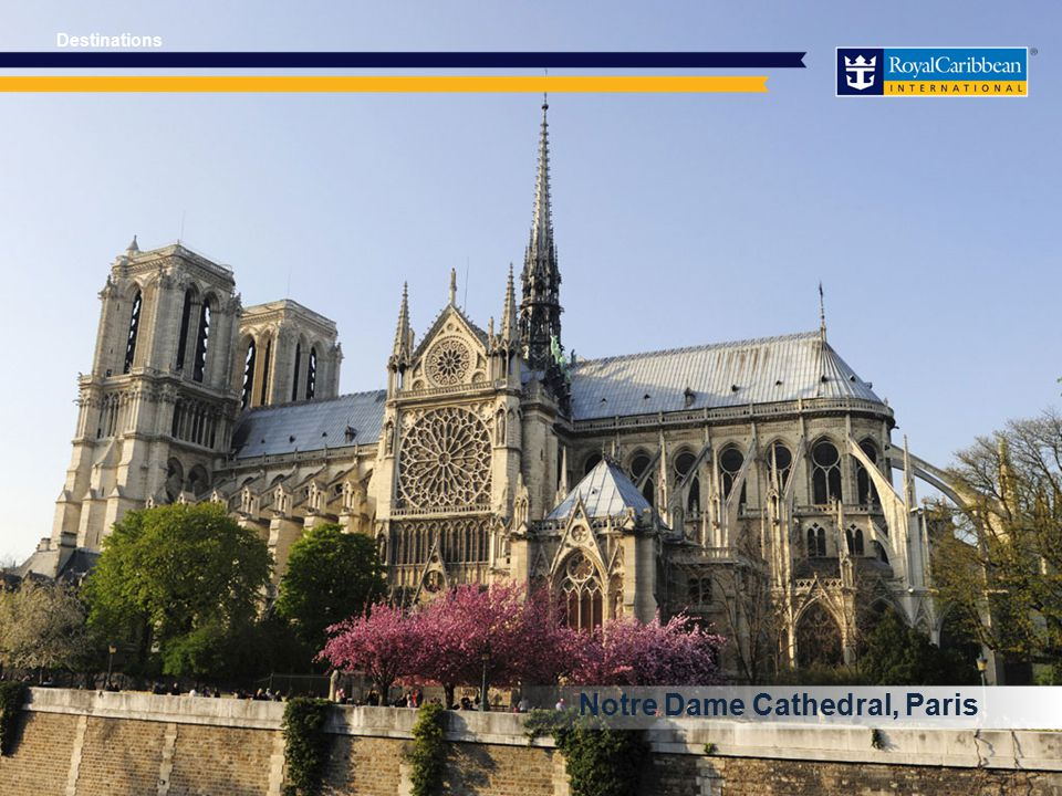 Notre Dame Cathedral, Paris Destinations