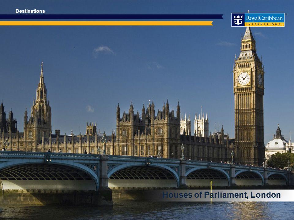 Houses of Parliament, London Destinations