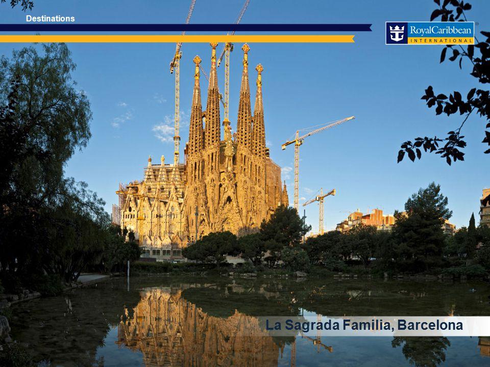 La Sagrada Familia, Barcelona Destinations