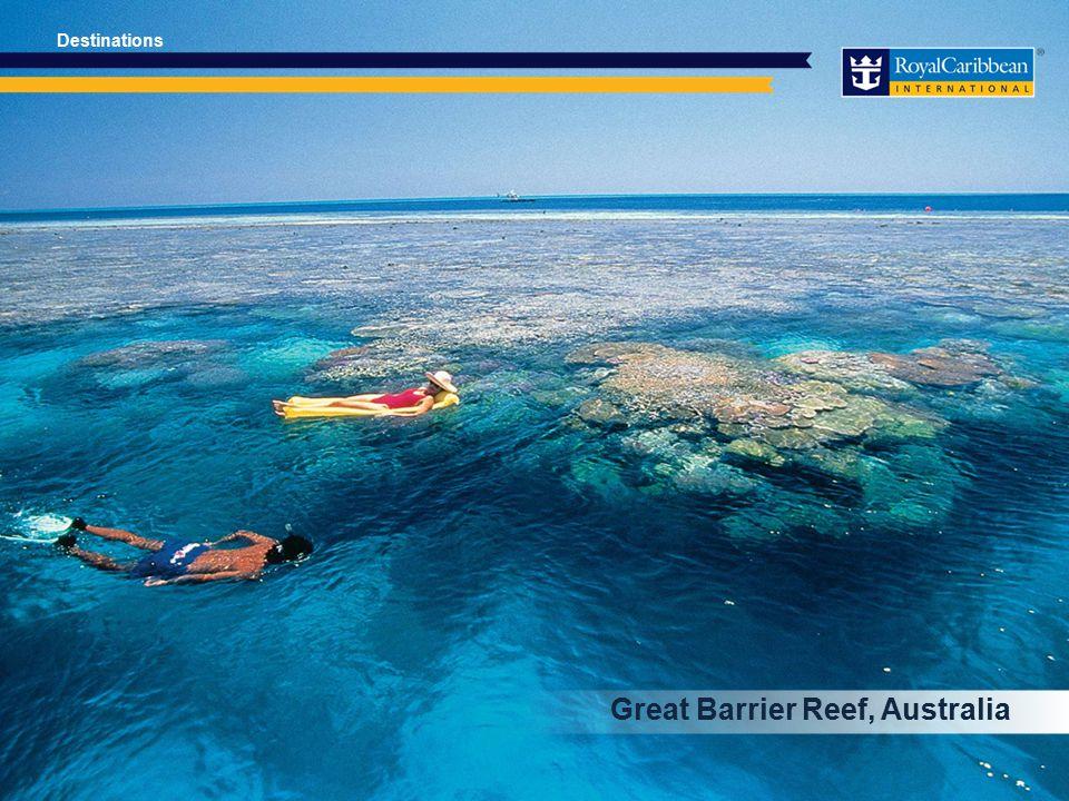 Great Barrier Reef, Australia Destinations