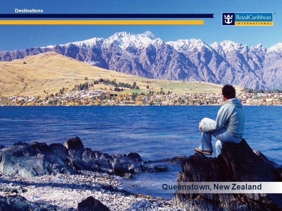 Queenstown, New Zealand Destinations