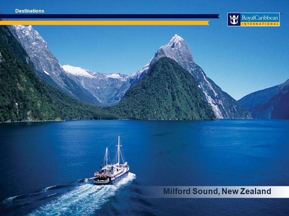 Milford Sound, New Zealand Destinations