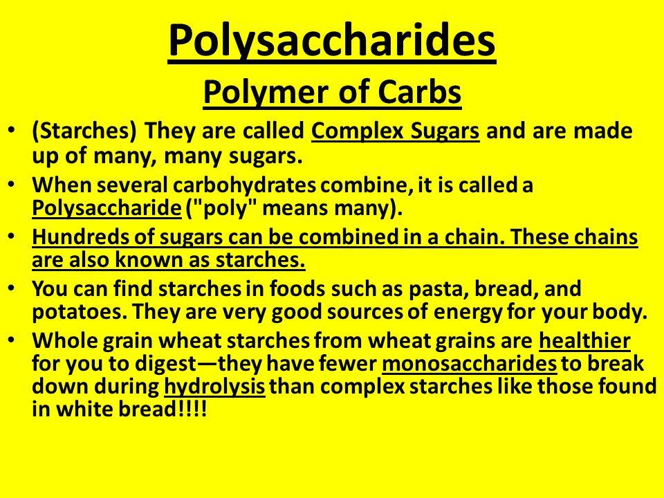 Hydrolysis ( add H 2 O) (to split) This is Catabolic Metabolism. (breaking down a molecule) C 12 H 22 O 11 + H 2 O C 6 H 12 O 6 + C 6 H 12 O 6