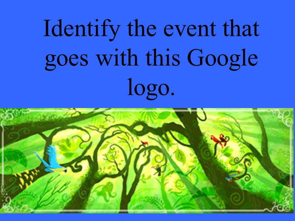 Identify the event that goes with this Google logo.