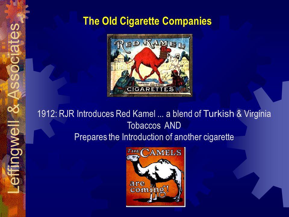 The Old Cigarette Companies 1912: RJR Introduces Red Kamel...