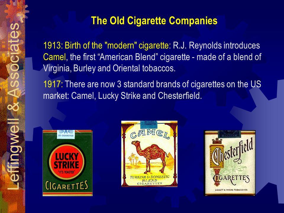 1913: Birth of the modern cigarette: R.J.