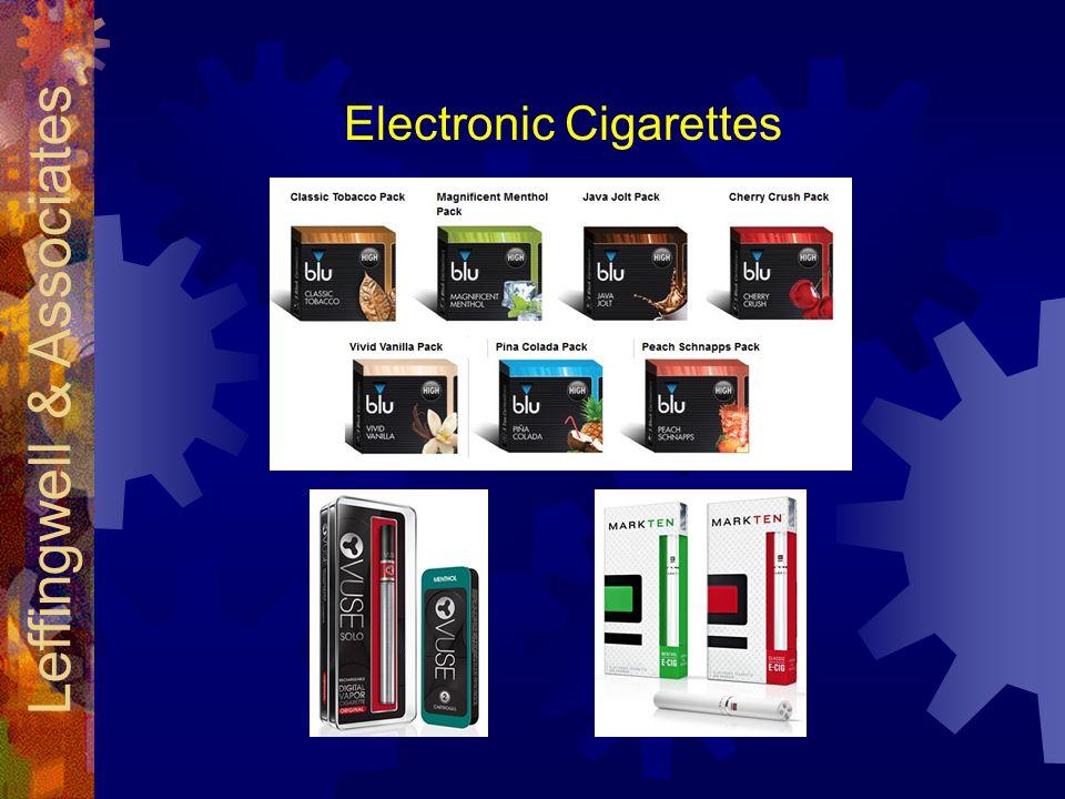 Electronic Cigarettes Leffingwell & Associates