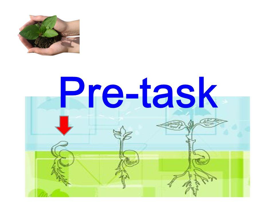 Pre-task