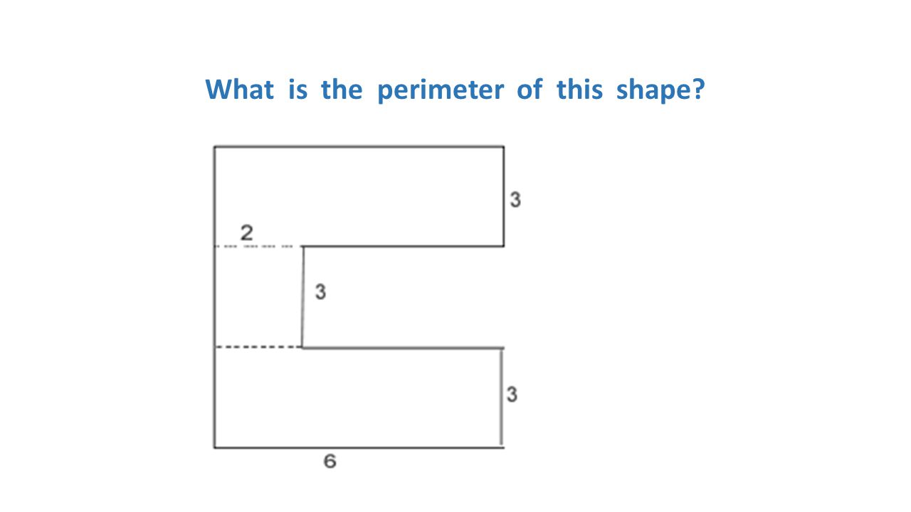 What is the perimeter of this shape?