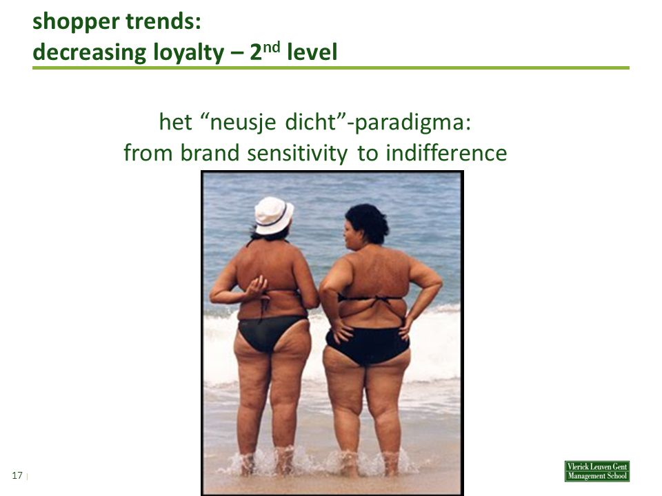 shopper trends: decreasing loyalty – 2 nd level 16 | het neusje dicht -paradigma