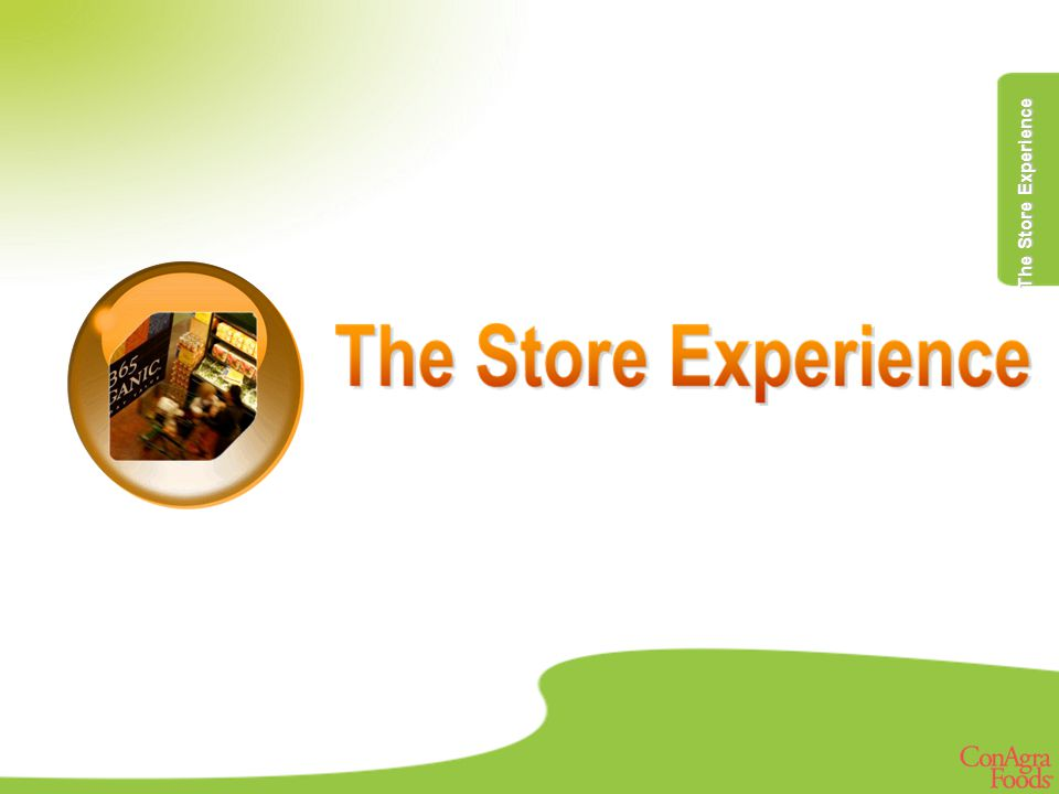 The Store Experience