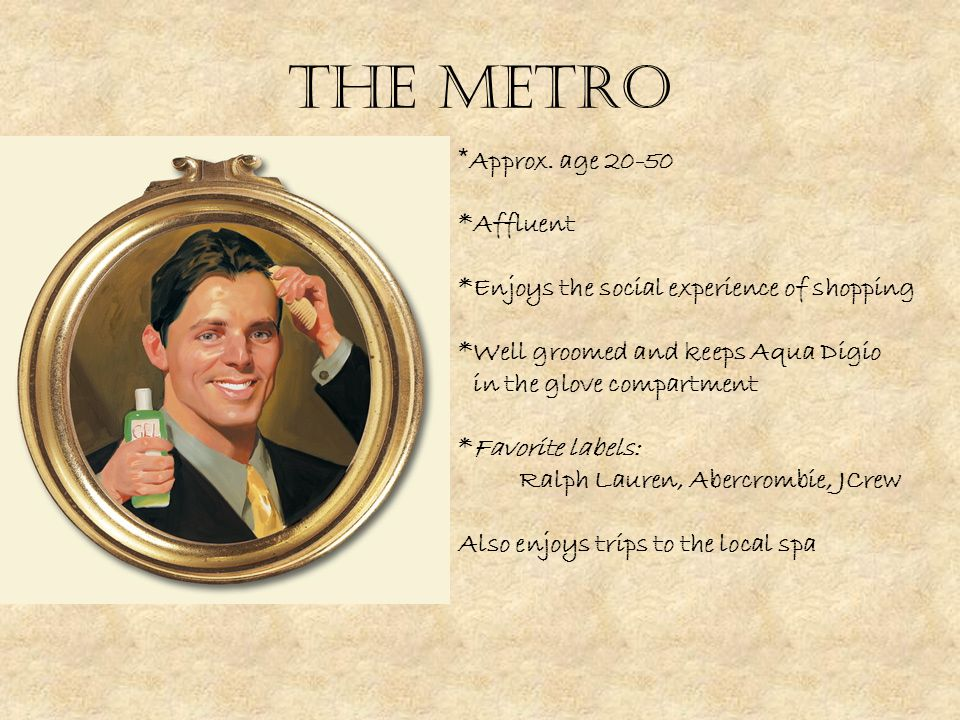 The Metro * Approx.