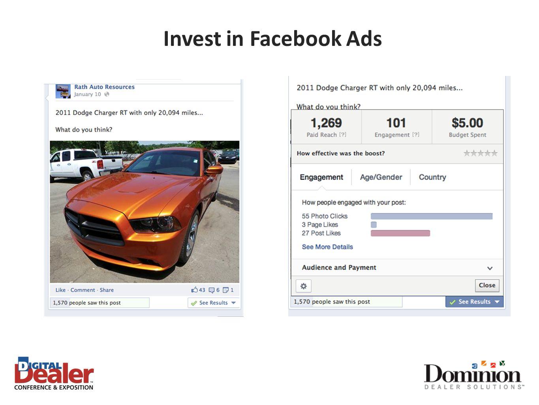 Invest in Facebook Ads