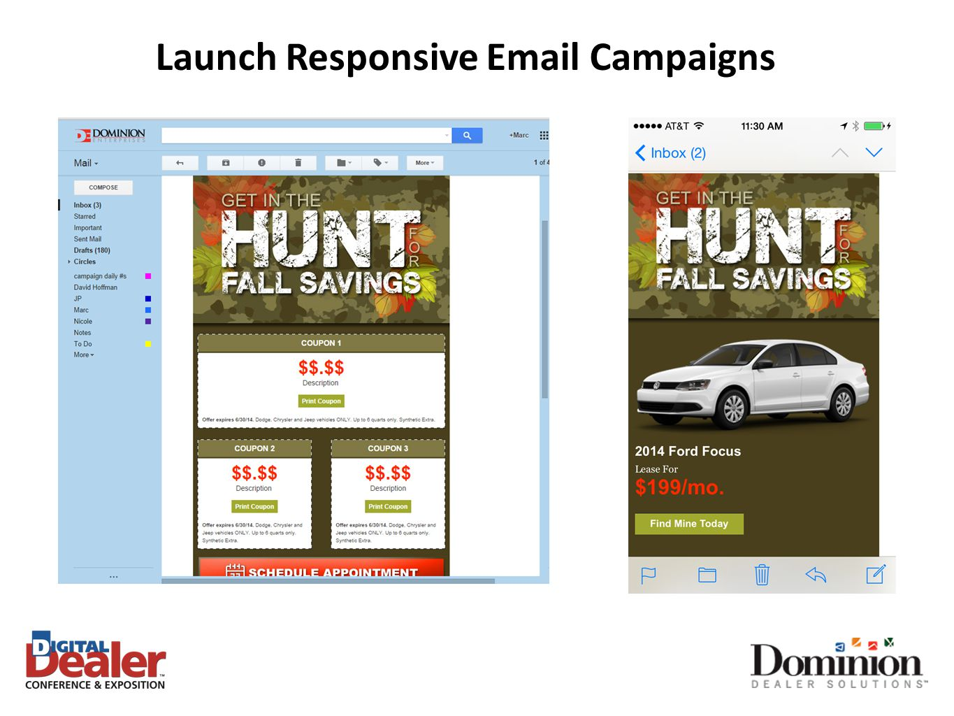 Launch Responsive Email Campaigns