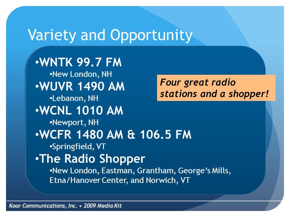 WNTK News Talk 99.7 PM & 1490 AM Koor Communications, Inc.