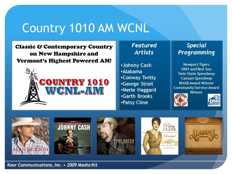 Springfield's Variety WCFR AM & FM Koor Communications, Inc.