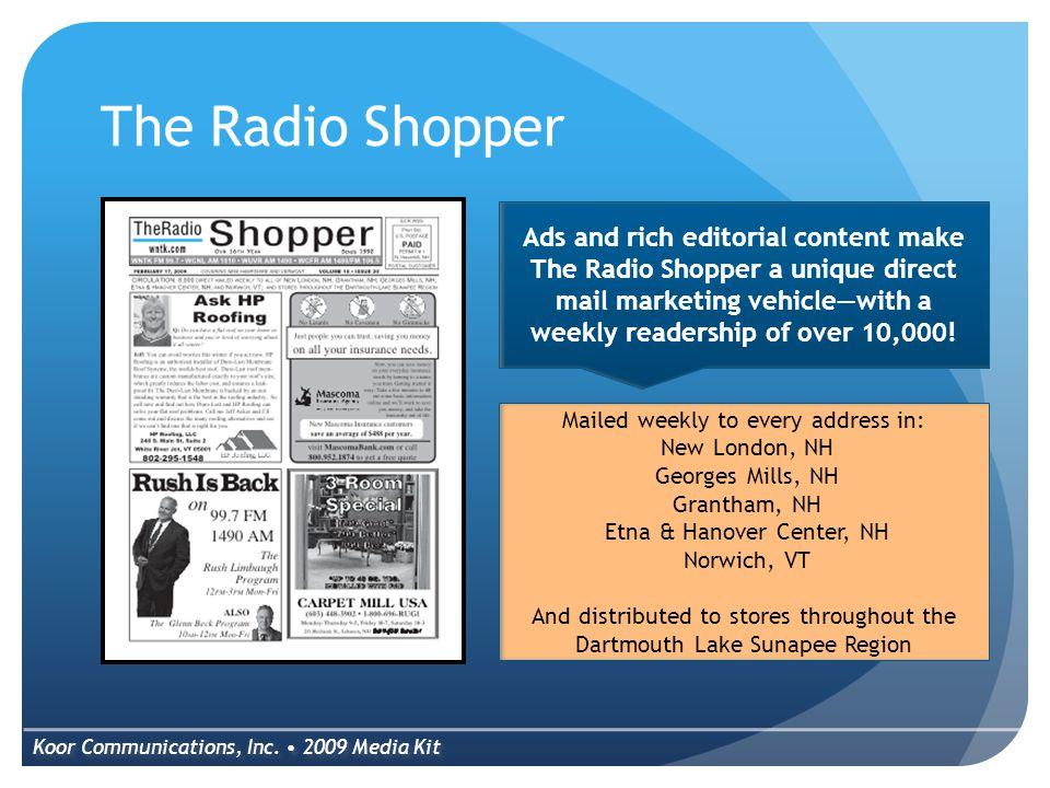 The Radio Shopper Koor Communications, Inc.