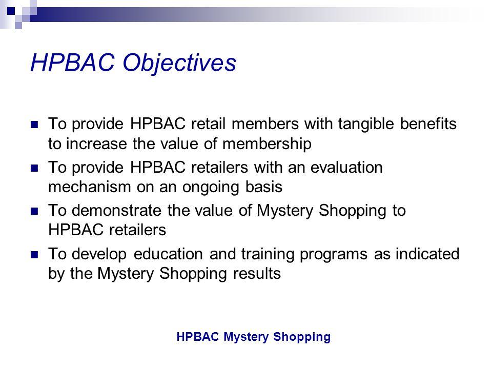HPBAC Mystery Shopping HPBAC Mystery Shopping Customer Service Performance – Professional Behaviour 65.0% 220 Canada 4428557221Sample (N) 67.2%65.6%67.5%58.3%75.9% Tot.