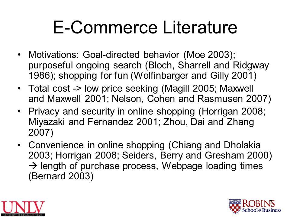 6 Theoretical Background We adapt Theory of Buyer Behavior (Howard and Sheth 1969) to modern e-era  e-non-buyer behavior E-Search.