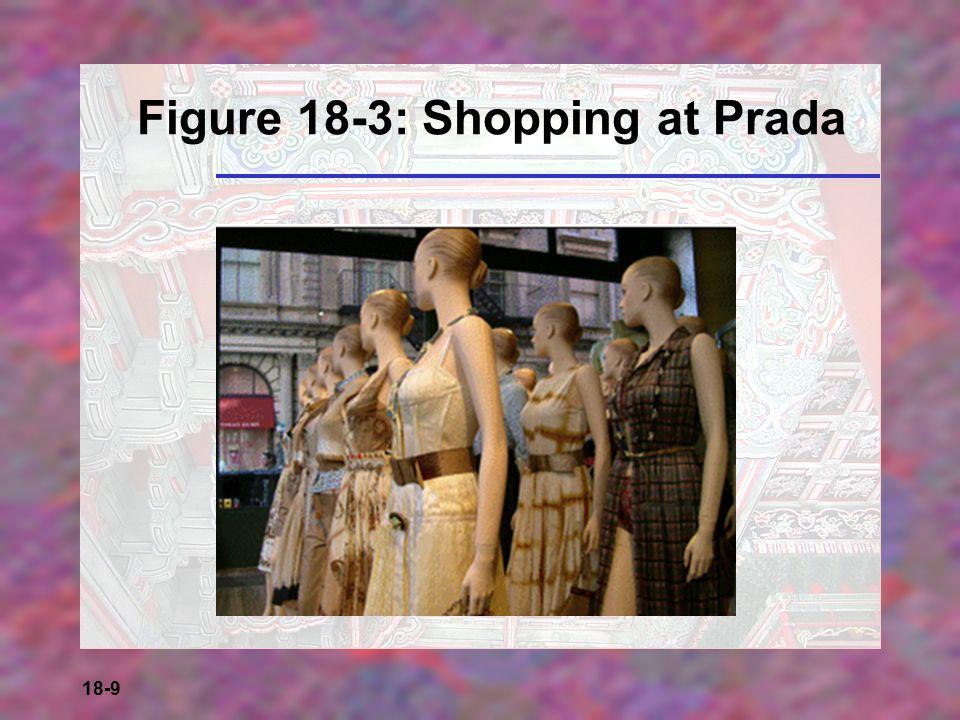 18-9 Figure 18-3: Shopping at Prada