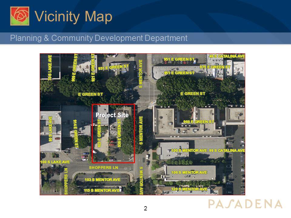 Planning & Community Development Department Subject Site Zoning 3