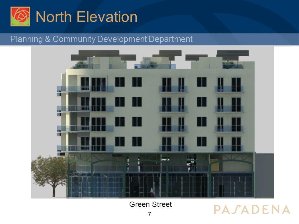 Planning & Community Development Department Northwest Corner 8 Green Street