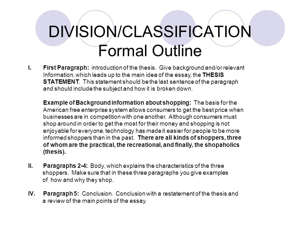Division classification essay examples roberto mattni co