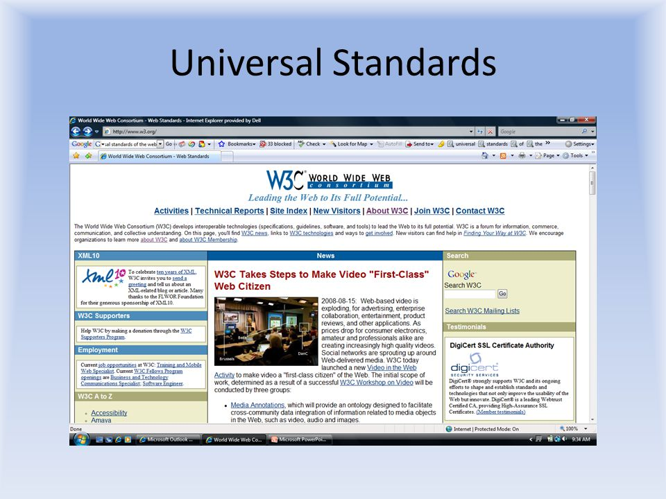 Universal Standards