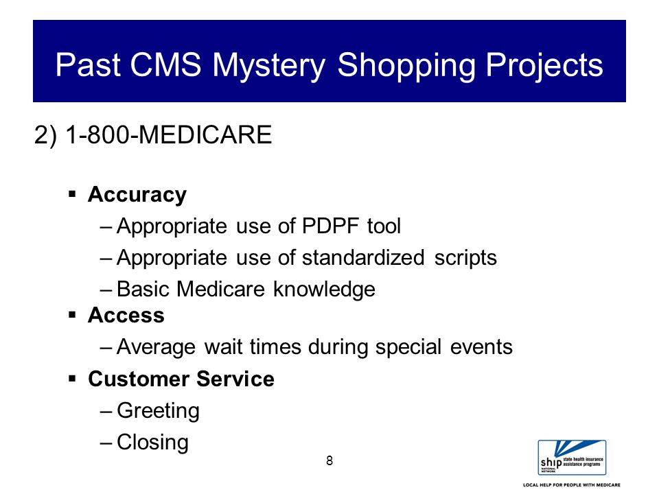 19 Steps of Mystery Shopping (Continued) 6.Develop a scenario (and pilot test it).