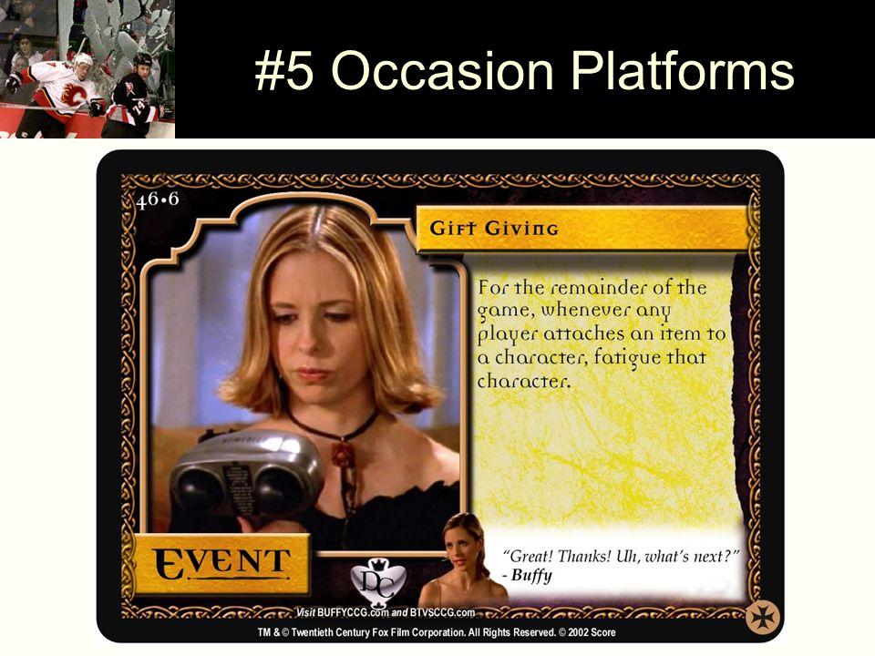 #5 Occasion Platforms