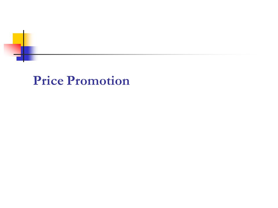 Price Promotion