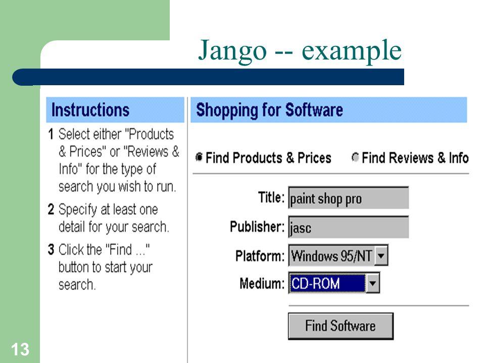 13 T.Sharon-A.Frank Jango -- example