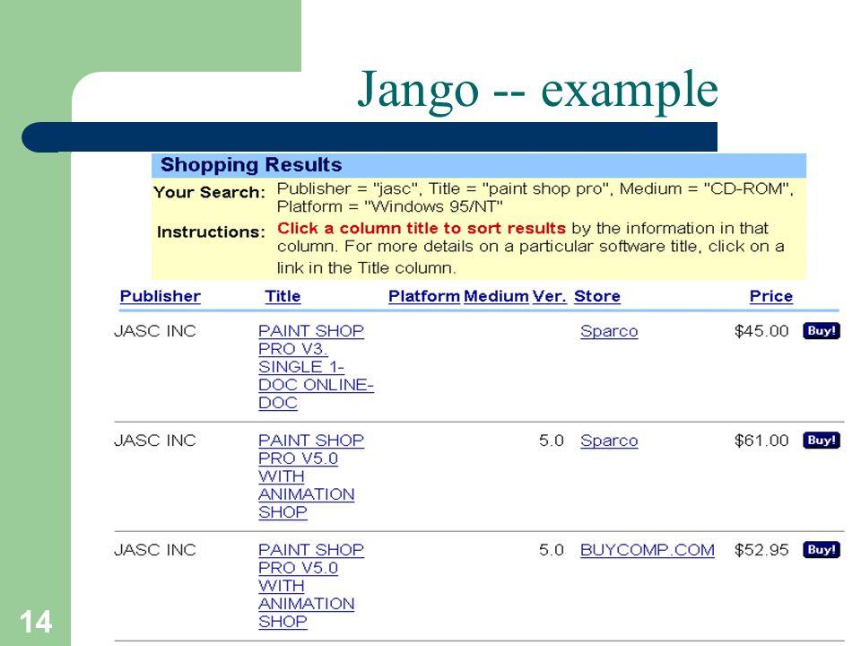 14 T.Sharon-A.Frank Jango -- example