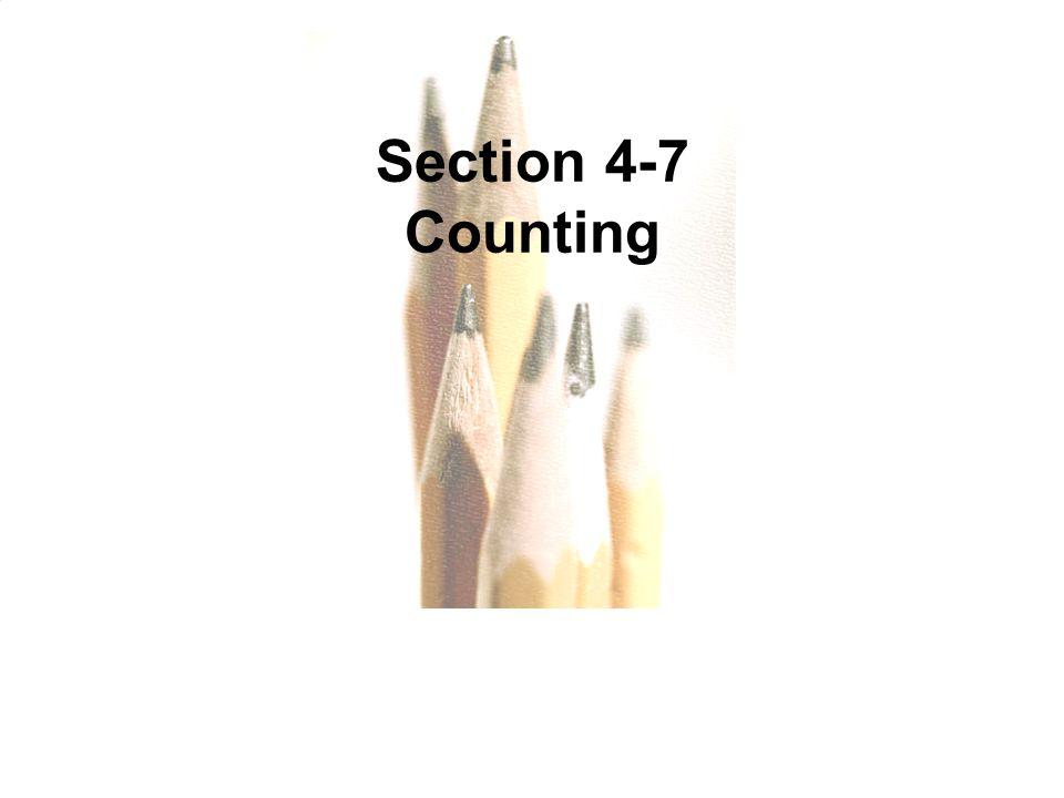 Slide Slide 12 Section 4-7 Counting